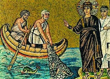 мозаика призвание апостолов на рыбалке фото на ruskemping.ru