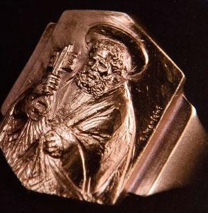 кольцо рыбака