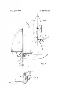 патент на подвесной парус
