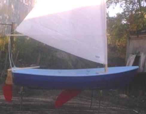 парусная лодка афалина