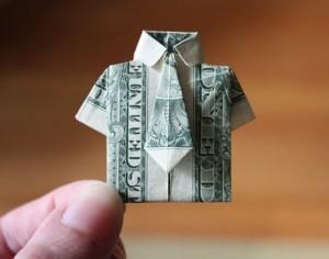 оригами подарок к 23 февраля