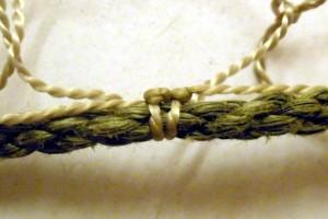 полотно привязка к шнуру