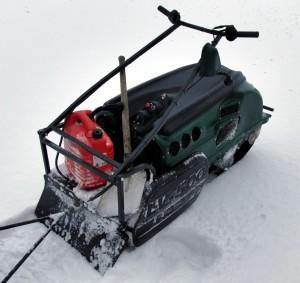 мотобуксировщик Lebdev Motors LVR 500 SWE