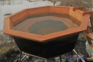 банный чан зимой опыт использования
