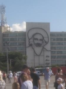 площадь революции на Кубе