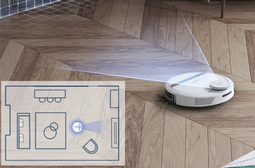 робот пылесос со сканером