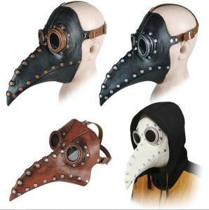 маска, доктор, клюв, нос